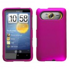 HTC HD7 Titanium Solid Hot Pink Phone Protector Cover