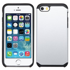 Apple iPhone 5/5s Silver/Black Astronoot Case