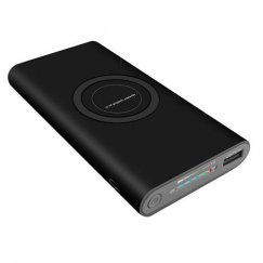 Black Wireless Charging Power Bank (8000 mAh)