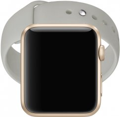Apple Watch Series 1 38mm Smartwatch - Gold with Antique White Band