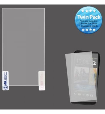 HTC Desire 610 Screen Protector Twin Pack