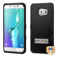 Samsung Galaxy S6 Edge Plus Natural Black/Black Hybrid Case with Stand