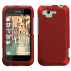 HTC Rhyme Titanium Solid Red Case