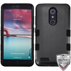 ZTE Grand X Max 2 Carbon Fiber/Black Hybrid Case