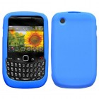 Blackberry 9300 Curve Solid Skin Cover (Dark Blue)