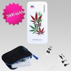 Cannabis Li-ion Power Bank (5600 mAh)