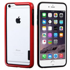 Apple iPhone 6/6s Plus Black/Solid Red Case