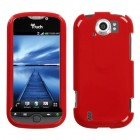 HTC myTouch 4G Slide Solid Flaming Red Phone Protector Cover