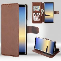 Samsung Galaxy Note 8 Brown NeoUrban Plus Wallet