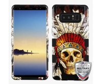 DeadChiefSkull/Black Hybrid Phone Protector Cover [Military-Grade Certified]