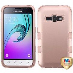 Samsung Galaxy J1 Rose Gold/Rose Gold Hybrid Case