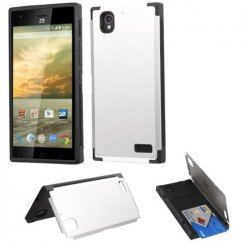 ZTE Warp Elite Silver Inverse Advanced Armor Stand Case