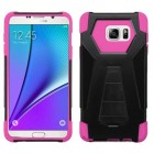 Samsung Galaxy Note 5 Hot Pink Inverse Advanced Armor Stand Case