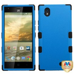ZTE Warp Elite Natural Dark Blue/Black Hybrid Case
