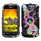 HTC myTouch 4G Peace Pop Phone Protector Cover