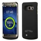 Samsung Galaxy S6 Edge Plus 4200 mAh Rubberized Black Quantum Energy Battery Case