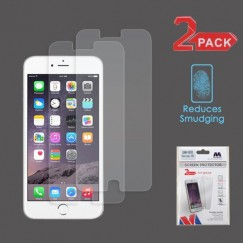 Apple iPhone 6/6s Plus Anti-grease LCD Screen Protector - Clear - 2-pack