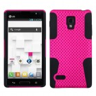 LG Optimus L9 Hot Pink/Black Astronoot Case