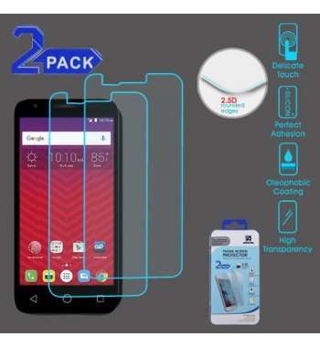 Alcatel Ideal / Streak / Dawn / Acquire Tempered Glass Screen Protector (2.5D)(2-pack)