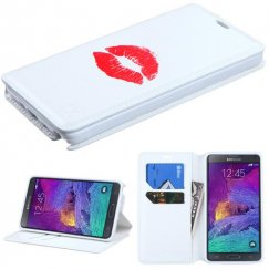 Samsung Galaxy Note 4 Rosy Lips Wallet