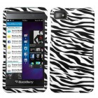 Blackberry Z10 Zebra Skin Case