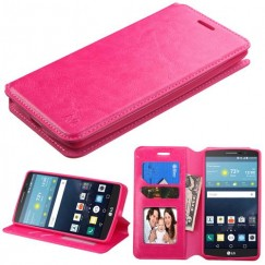 LG G Vista 2 Hot Pink Wallet with Tray