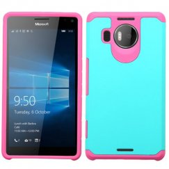 Nokia Lumia 950 Teal Green/Hot Pink Astronoot Case