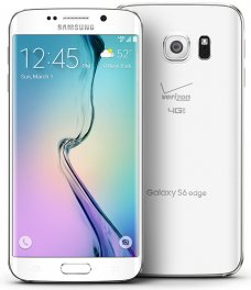 Samsung Galaxy S6 Edge SM-G925V 128GB Android Smartphone for Verizon - White Pearl