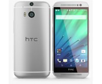 HTC One M8 16GB in Silver 4G LTE Android Smartphone Unlocked GSM