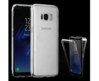 Samsung Galaxy S8 Plus T-Clear Full-Body Candy Skin Covers (Front+Back)
