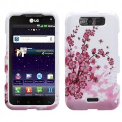 LG Connect 4G Spring Flowers Case