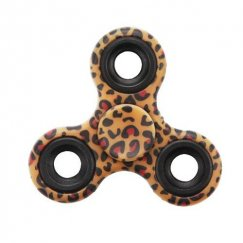 Leopard Skin Triangle Spinner