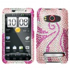 HTC EVO 4G Phoenix Tail Diamante Protector Cover
