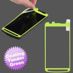 Samsung Galaxy S4 Active SGH-i537 Coating Screen Protector/Tender Green
