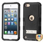 Apple iPod Touch (6th Generation) Natural Black/Black Hybrid Case with Stand