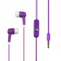 Light Purple Stereo Handsfree