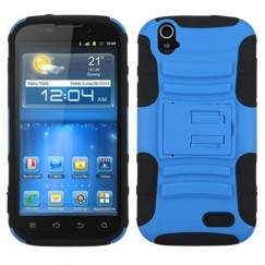 ZTE Grand X Dark Blue/Black Advanced Armor Stand Case