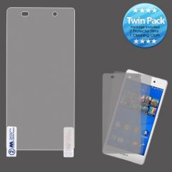 Sony Xperia Z3V Screen Protector Twin Pack