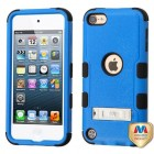 Apple iPod Touch (6th Generation) Natural Dark Blue/Black Hybrid Case with Stand
