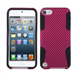 Apple iPod Touch (5th Generation) Hot Pink/Black Astronoot Case