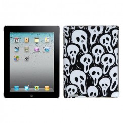 AppleiPad 2nd Generation 2011 Screaming Ghosts Back Case