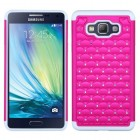 Samsung Galaxy A7 Hot Pink/Solid White FullStar Case
