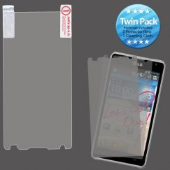 LG Spirit 4G Screen Protector Twin Pack