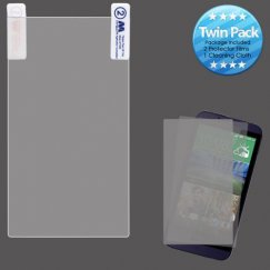 HTC Desire 510 Screen Protector Twin Pack