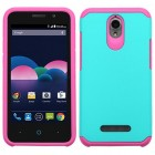 ZTE Obsidian Teal Green/Hot Pink Astronoot Phone Protector Cover