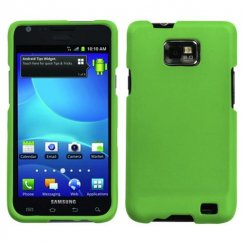 Samsung Galaxy S2 Dr Green Case - Rubberized