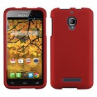Alcatel One Touch Fierce Titanium Solid Red Case