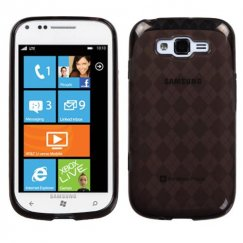 Samsung Focus 2 Smoke Argyle Candy Skin Cover