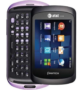 Pantech Swift Basic Messaging Bluetooth Phone ATT