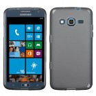 Samsung Ativ S Neo SGH-I187 Semi Transparent Smoke Candy Skin Cover (Rubberized)